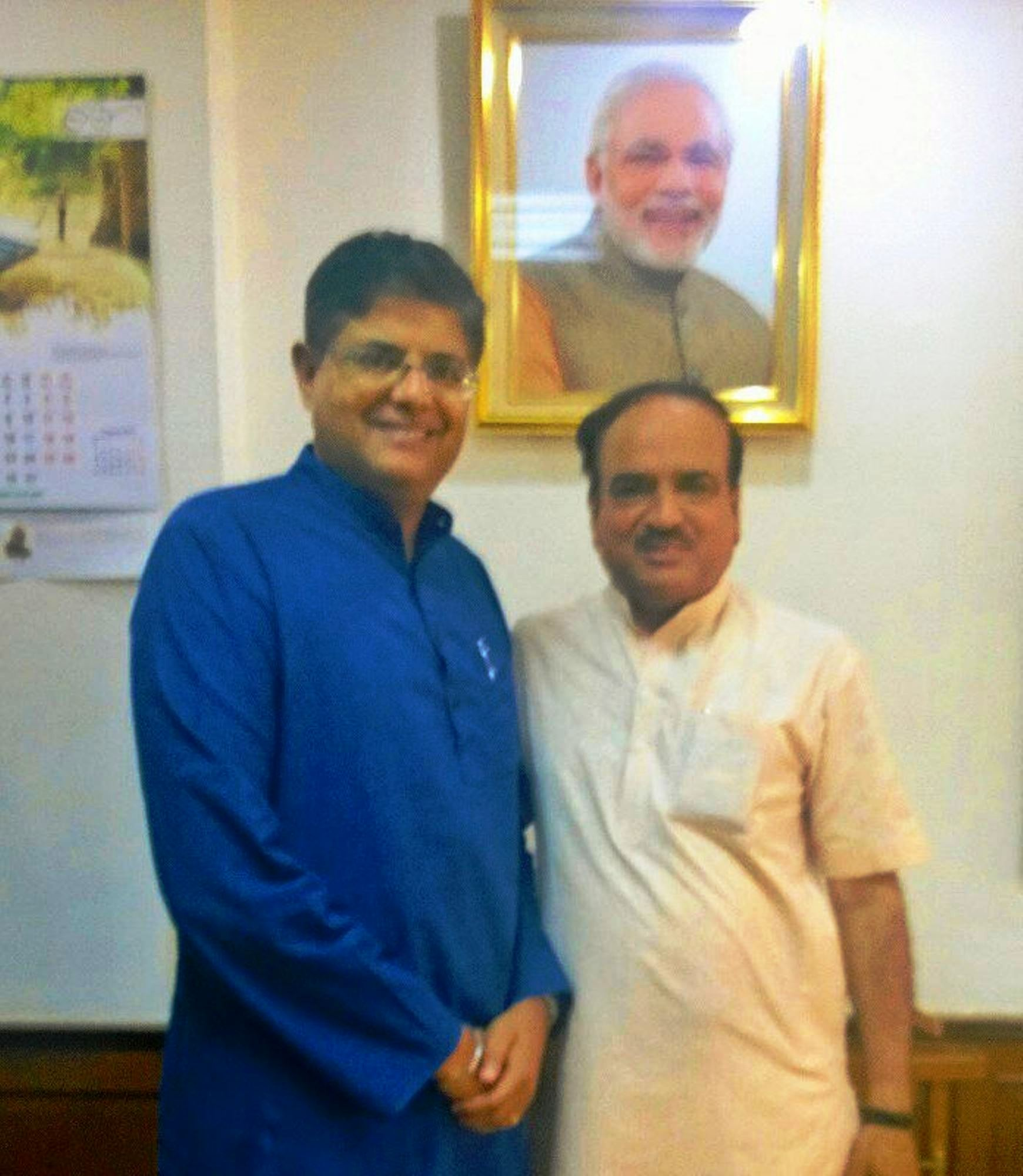 Photograph with Minister