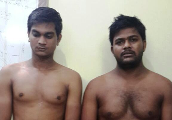 two arrested from delhi