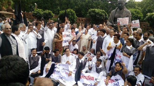cong protest