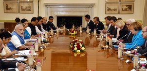 India and Germany sign 18 MoUs