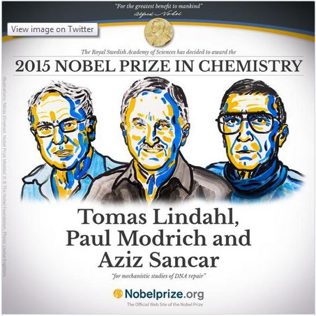 India Today DNA scientists win 2015 Nobel Prize for Chemistry