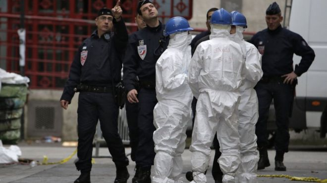 Danger of chemical attack - French PM
