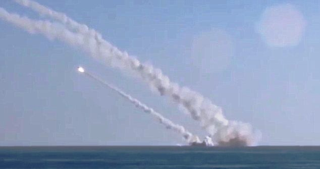 russsia attacked to siriya on isis
