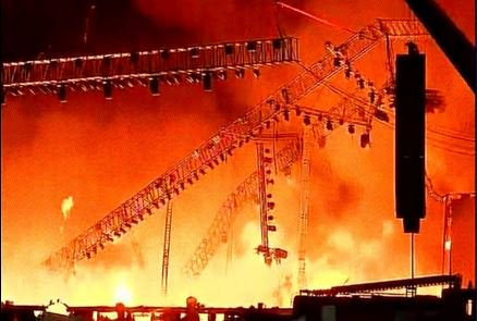 fire at make in india- stage