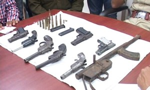 recovered guns