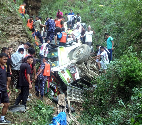 24 killed in Nepal road accident