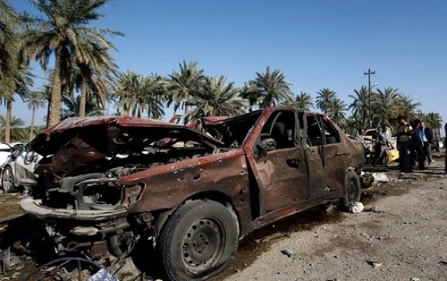 Suicide attacks in Iraq kill at least 14 people