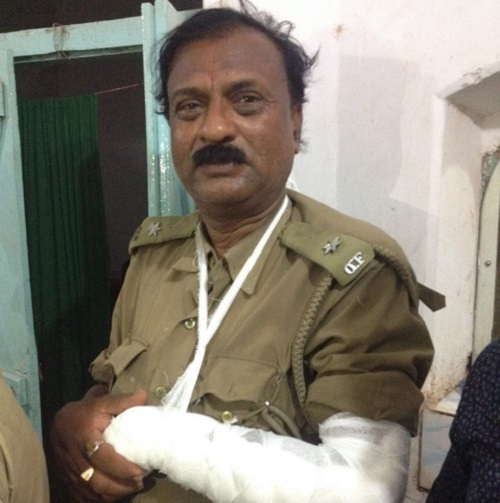 attacked forest-officials