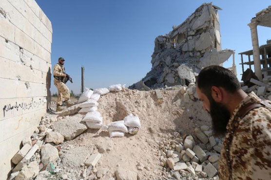 29 Syria rebels dead in fighting for key Aleppo road'
