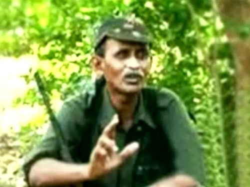 naxal leader ramakrishna in malkangiri jungle