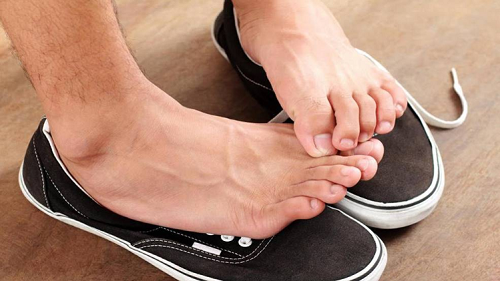 After wearing shoes, try stomach with feet, these prescriptions