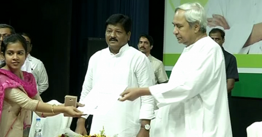 Naveen Pattnaik giving appointment