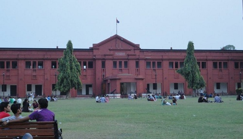 Ravenshaw college front view