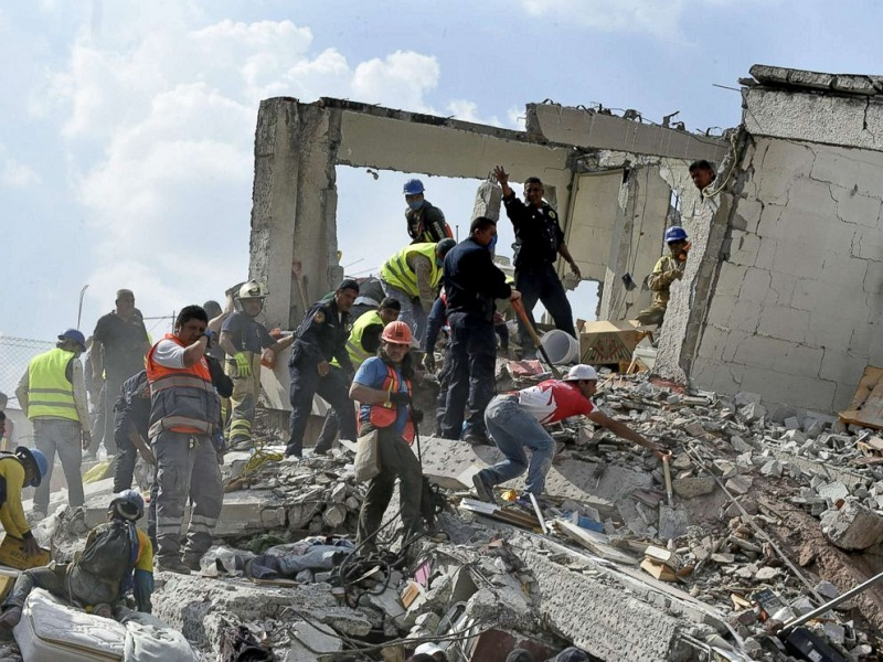 Mexico-Earthquake-Rescue-Work