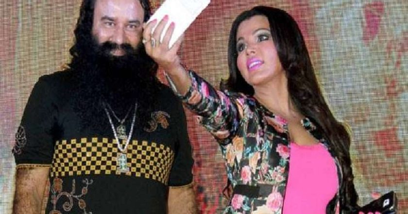 Ram-Rahim-and-Rakhi-Sawant
