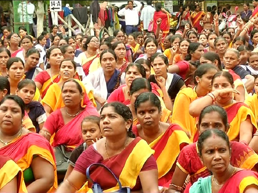 Anganwadi-workers-protest