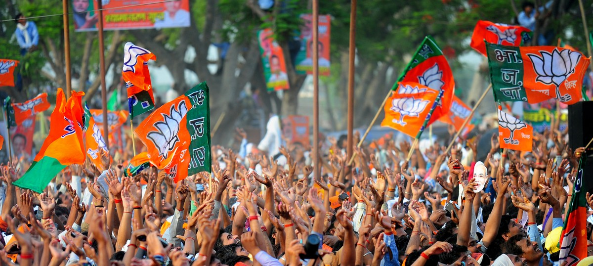 BJP-supporters-with-flags