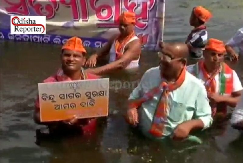silent-protest-for-water-conservation