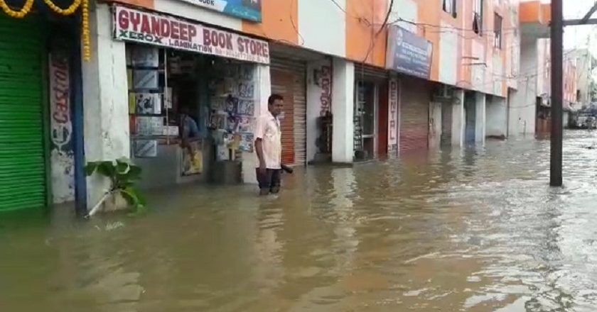 Water-logging-caused-by-heavy-rainfall