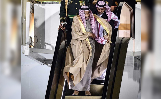 saudi-king's-golden-escalator