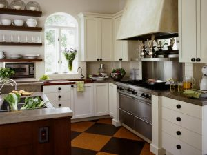 try some change in kitchen