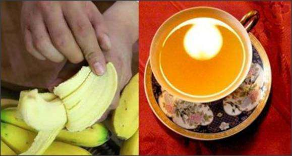 banana peel tea