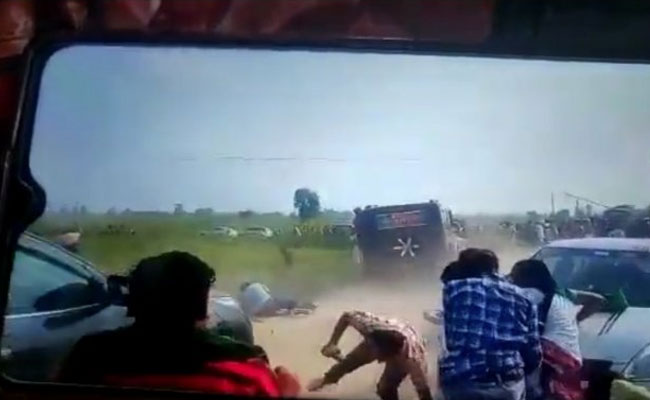 video footage of violence