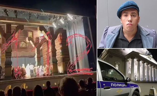 actor death on stage